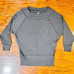 We the Free People Grey Sweater Sz S/M